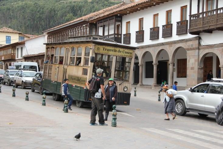 Le tramway de Cusco
