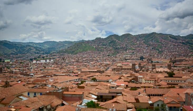 Les toits de Cusco