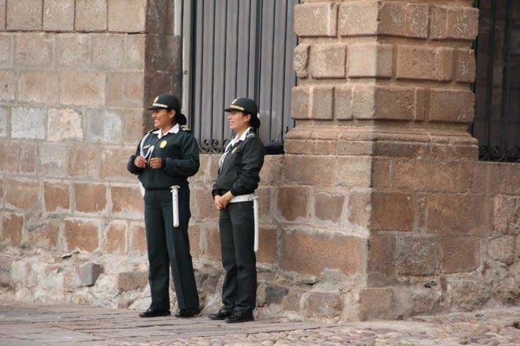 Policières de Cusco