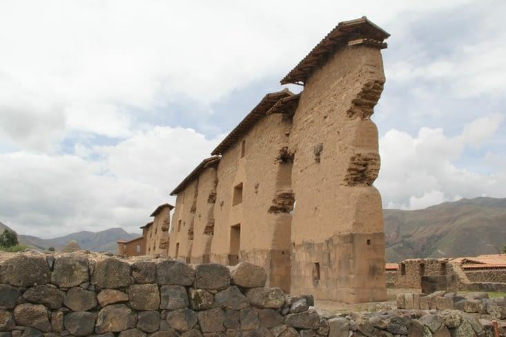 Le temple du site de Raqchi