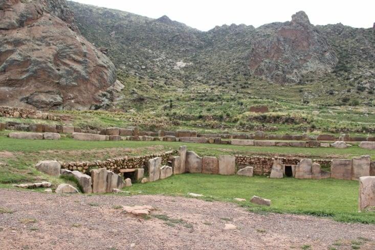 Le temple et ses souterrains
