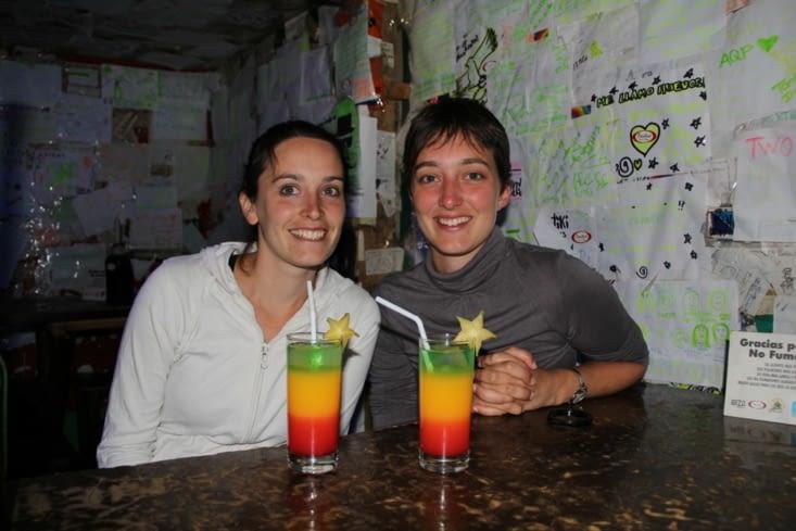 Apéro (Cocktail Machu Picchu) dans le centre de Puno
