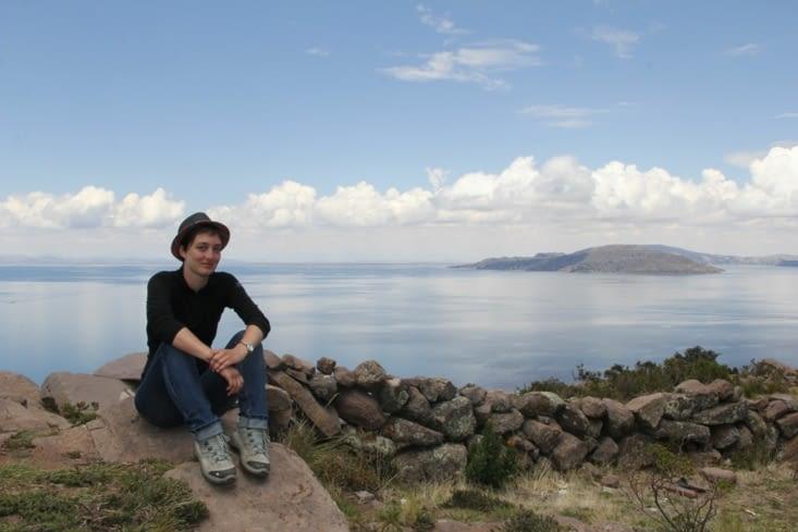 Carine et le Titicaca