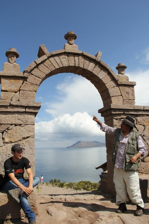 Les explications de notre guide Tito Castro