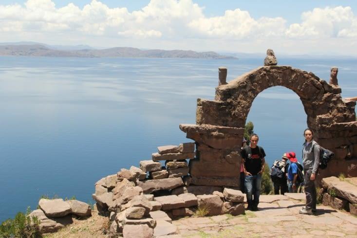Une autre arche de Taquile