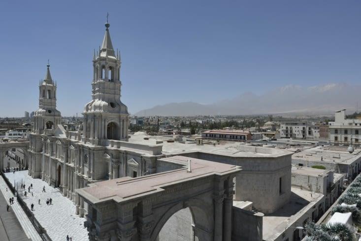 La cathédrale d'Arequipa