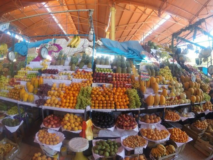 Les fruits du marché