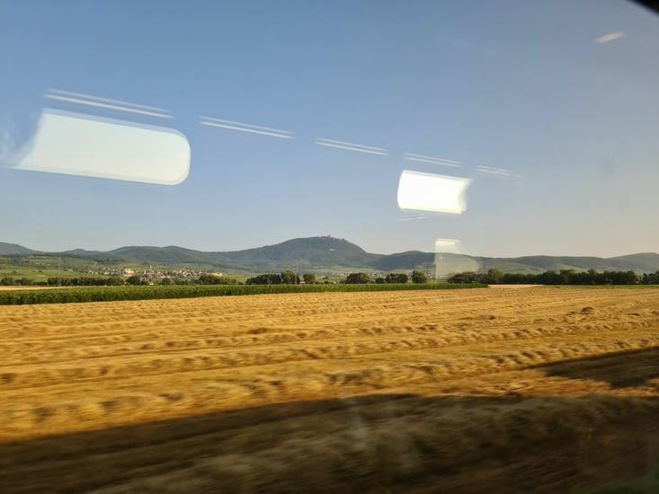 Haut-Koenigsbourg depuis le TGV