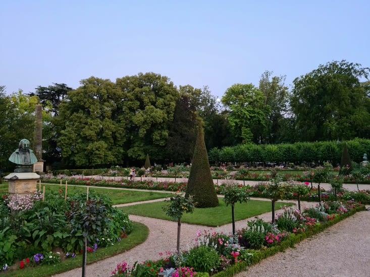 Le jardin de l'Archevêché