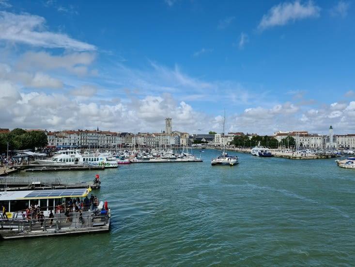 Vue sur le Vieux-Port depuis la Tour de la Chaîne