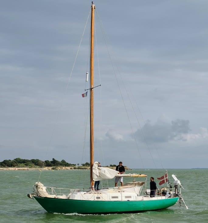 Mon bateau préféré en arrivant à la Rochelle