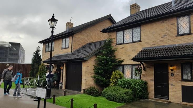 La maison d Harry potter