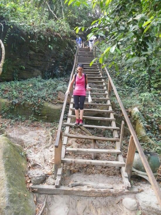 escalier artisanal