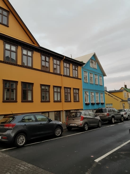 Rues de Reykjavik