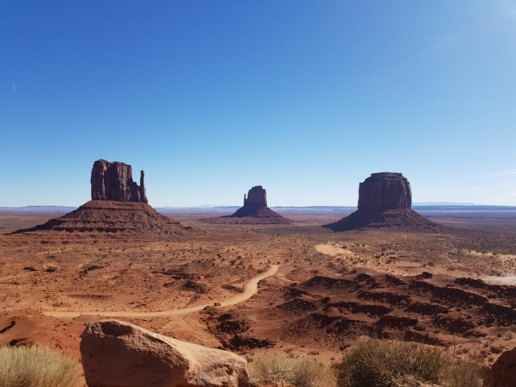 The East and West Mitten Buttes