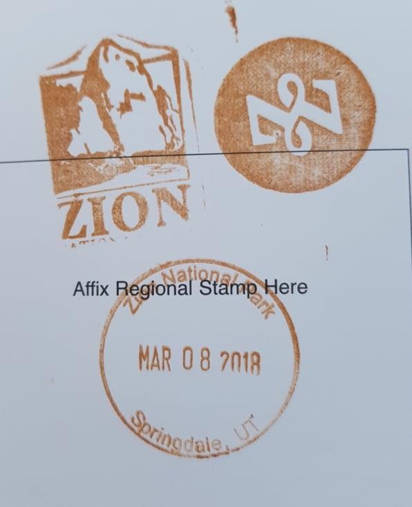 Tampon de Zion