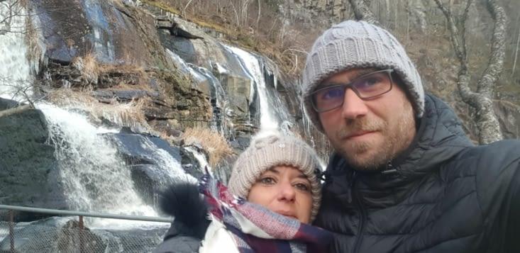 Cascade de Skervfossen