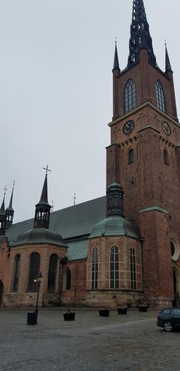 Eglise Riddarholmen