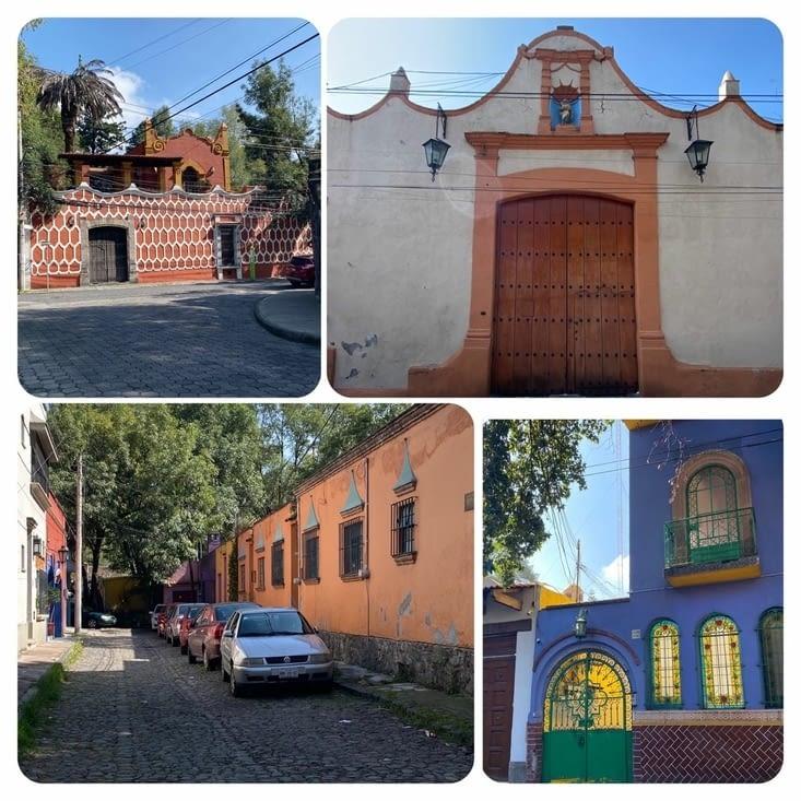Maisons le long de l'Avenida Francisco Sosa