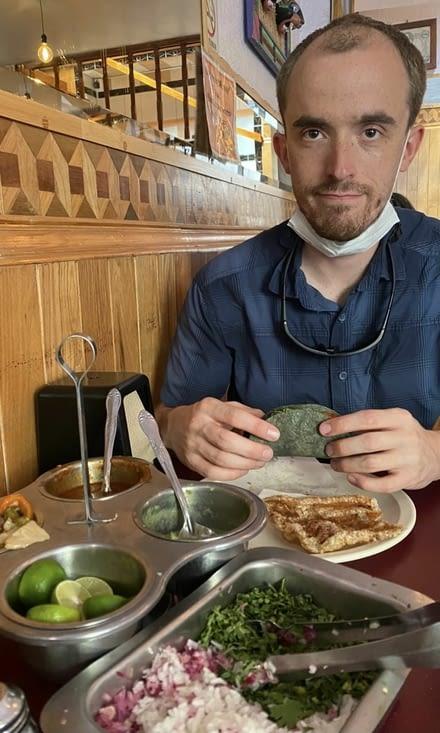 Pause repas bien méritée