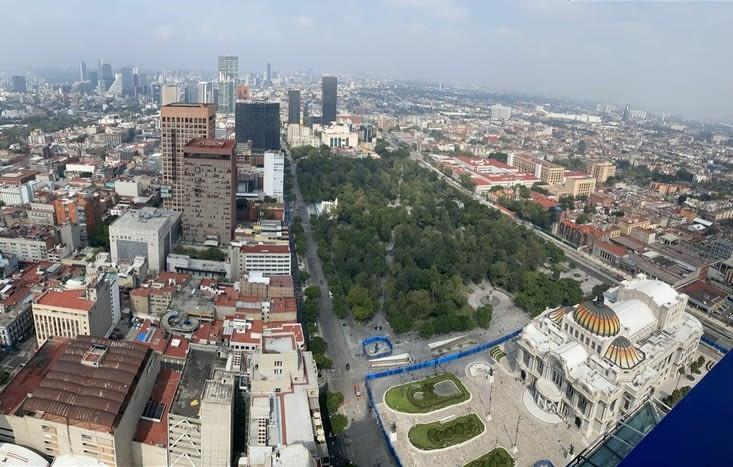Vue depuis la terrasse du 44eme étage