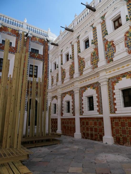 Cour intérieur de Patio de Los Azulejos