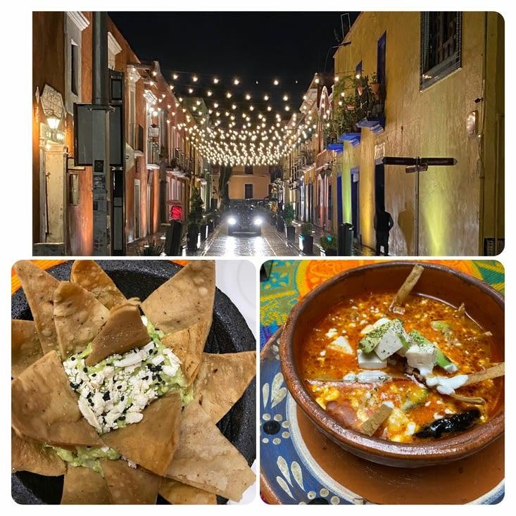 Guacamole et Sopa Azteca