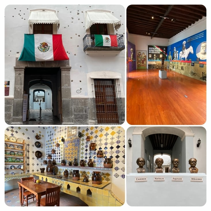 Musée de la révolution et sa facade