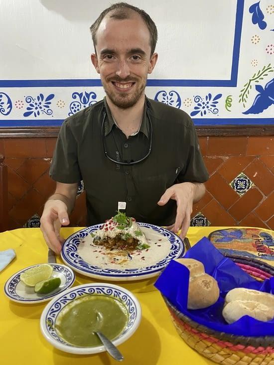 Un homme heureux (et sa demi-part de Chile)