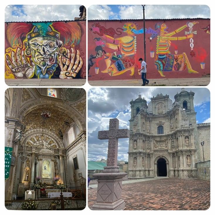 Église et street art