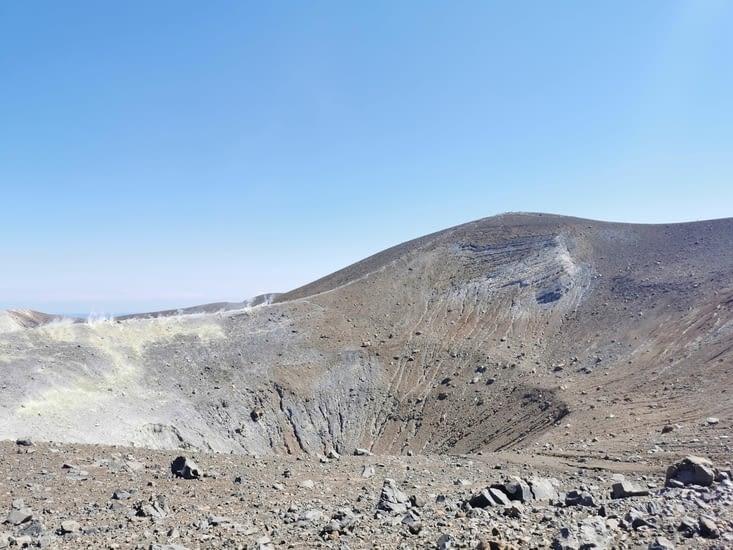 Cratère vulcano