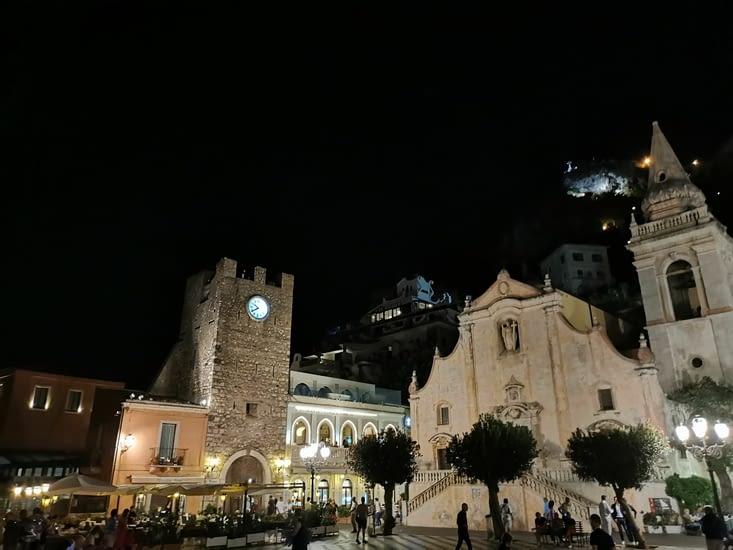 Taormine by night