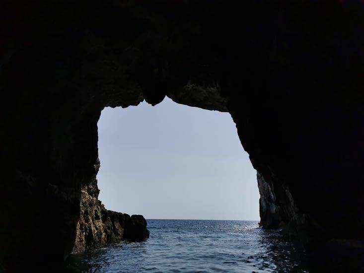 Intérieur grotte