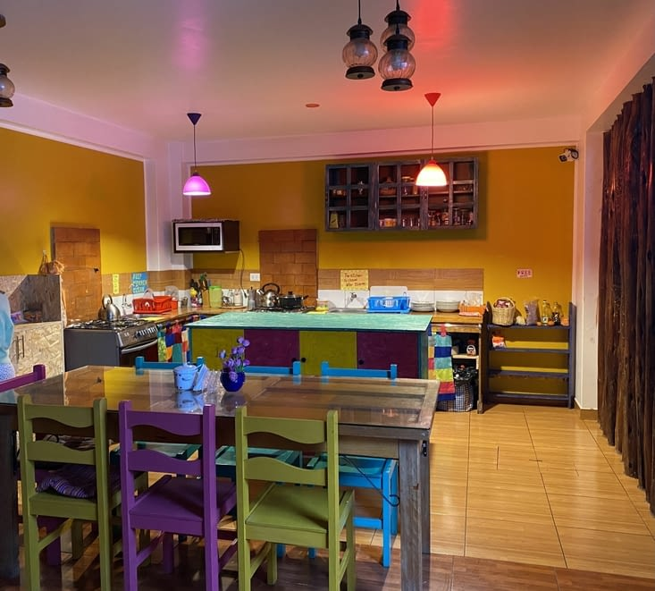 Petite cuisine où l'on peut se faire à manger