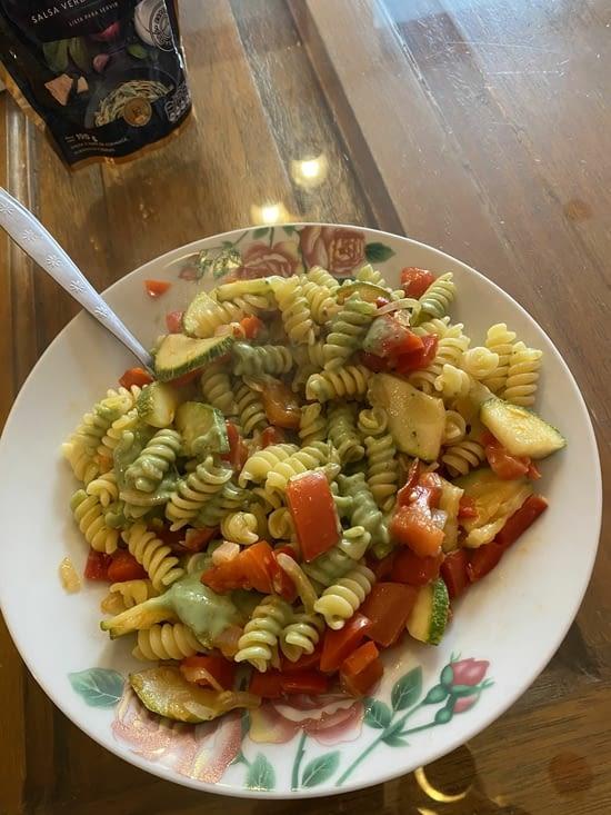 1er repas cuisiné