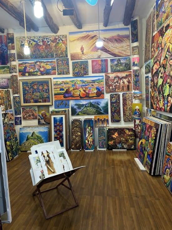 La rue artistique de Cusco 🎨