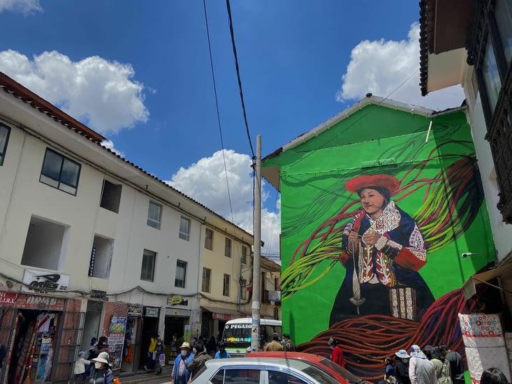 une ville beaucoup plus typique que Lima