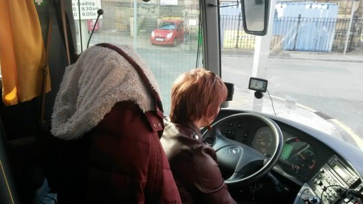 sophie la conductrice
