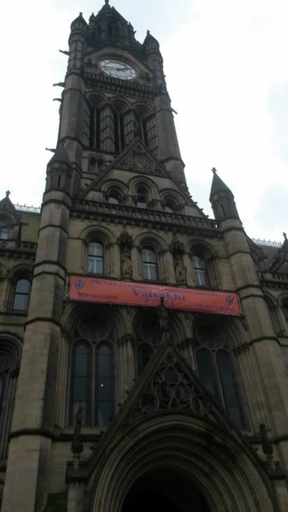 la mairie de Manchester