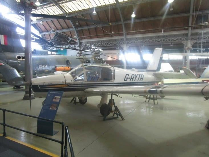 Un des avions exposés