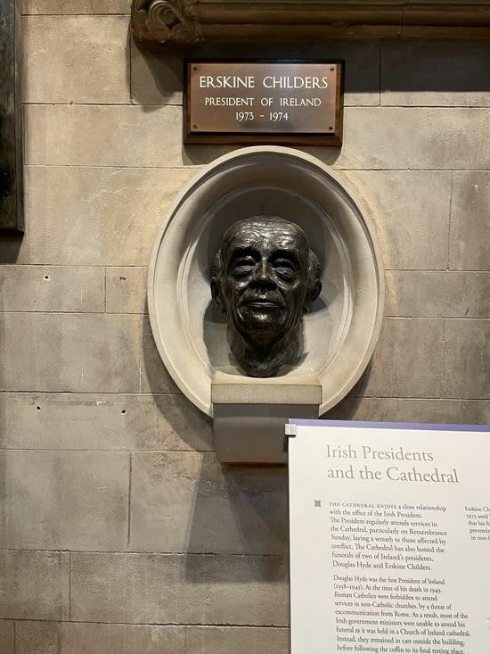 Quatrième président d'Irlande (mort au bout d'un an de mandat)