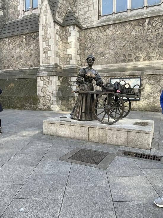 Molly Malone, la plus belle femme de Dublin