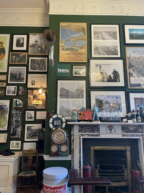 Un mur du Little Dublin Museum