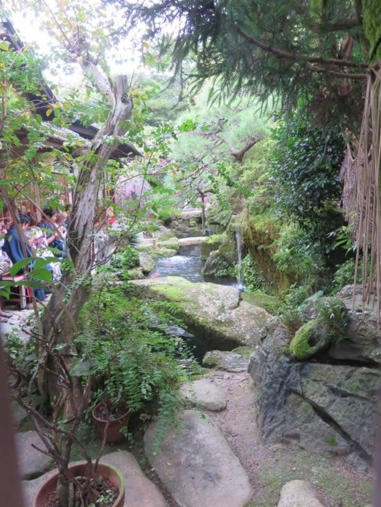 Un jardin japonais. Oui, y'en à partout.