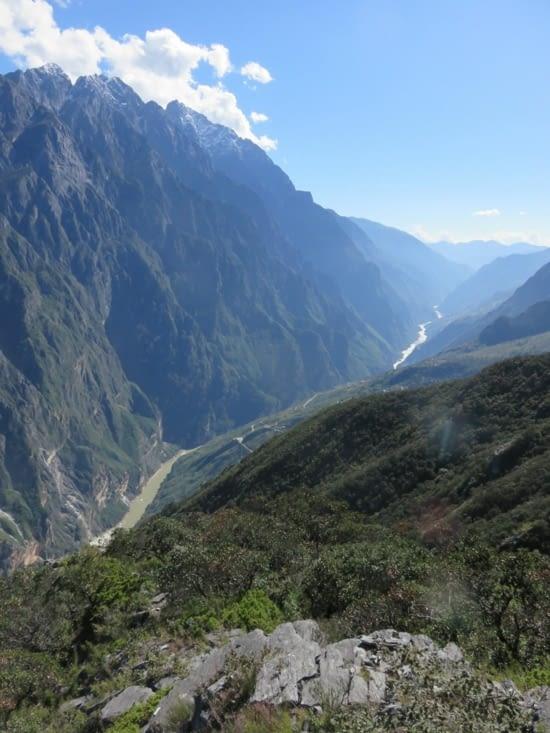 Les gorges du tigre. On est entre 4000 et 4500m, d'après nos estimations.