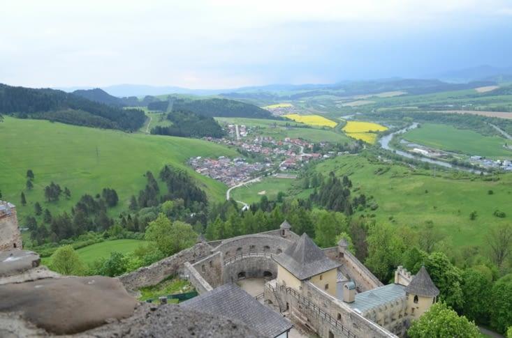Vue de la tour du château