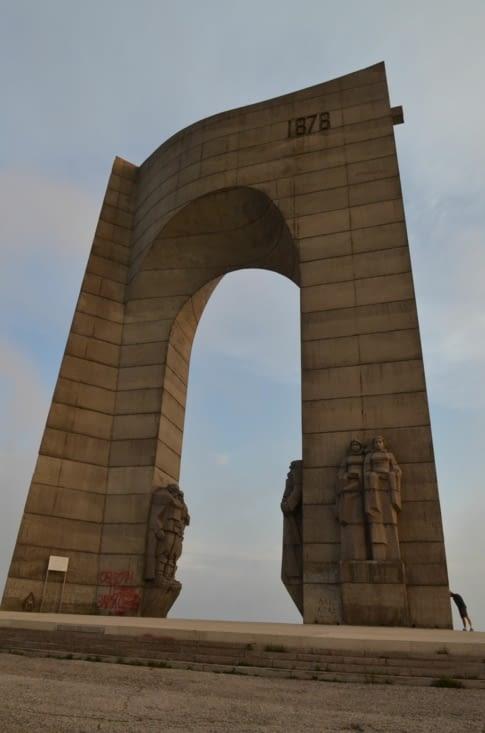 """Arch of freedom"", symbolisant la libération bulgare"