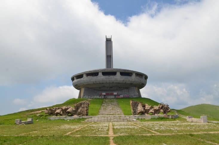 Buzludzha, salle de conférence communiste