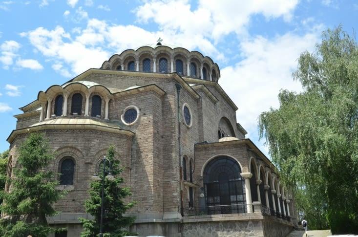 La cathédrale de Sofia