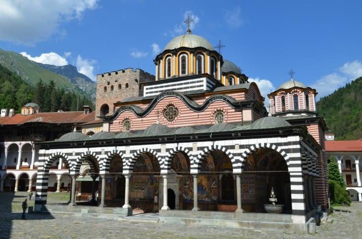 L'église du monastère de Rila